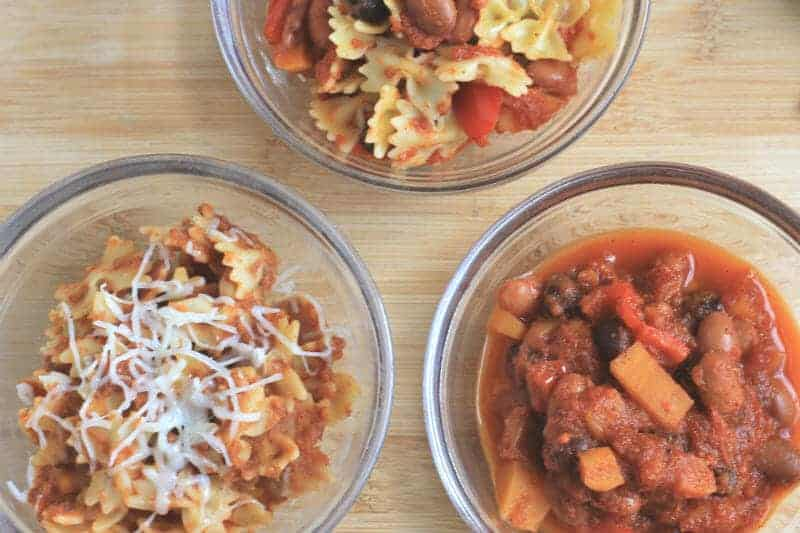 easy veggie chili mac