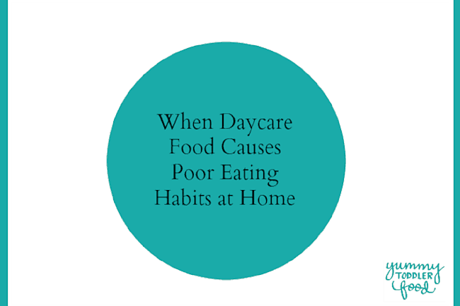Why Daycare Menus Cause Poor Eating Habits
