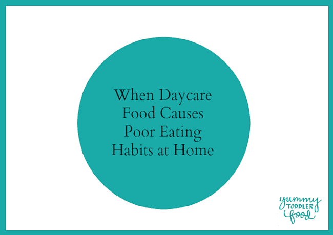 Why Daycare Menus Can Cause Poor Eating Habits