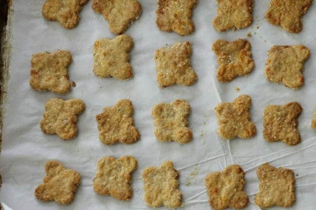 Easy Cheese Crackers with Oats Recipe