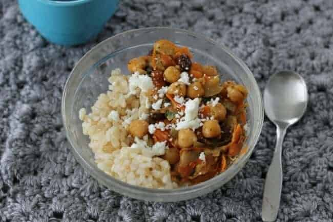 Moroccan-Spiced Chickpeas