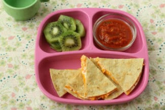 Quick Sweet Potato and Cheese Quesadillas