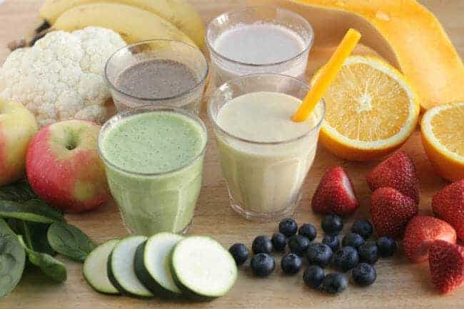 toddler smoothies and kid smoothies
