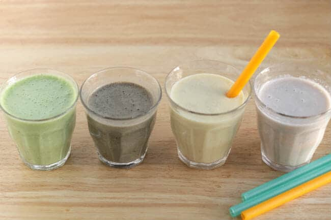 healthy smoothies for kids and toddlers