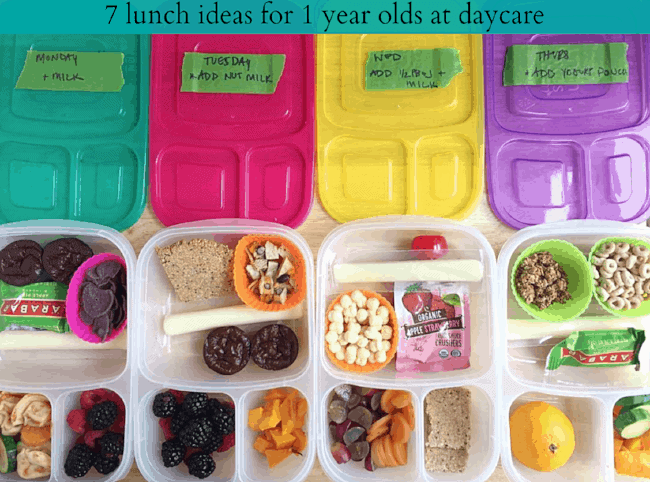 lunch ideas for one year old toddlers