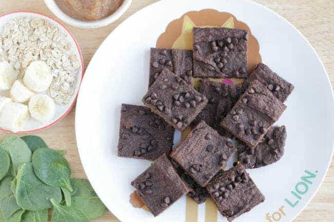 Produce-Packed Healthy Fudge Brownies Recipe