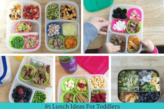 Master List of Toddler Lunchbox Ideas