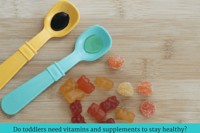 Toddler Vitamins, Supplements, and Immune Boosters