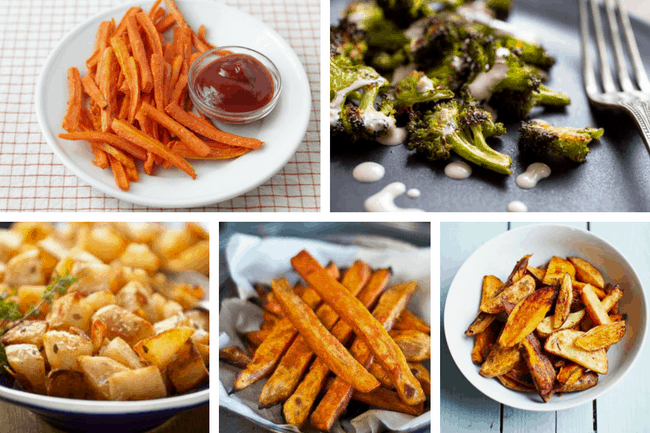 The Best Roasted Vegetables