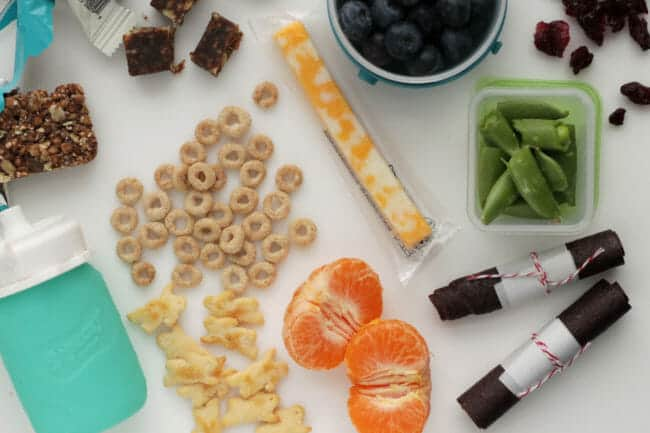 Master List of Healthy Snack Ideas for Kids