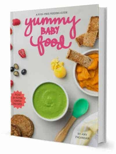 Yummy Baby Food Cookbook