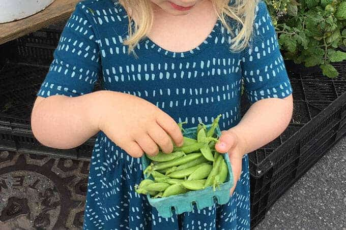 fresh snap peas