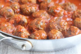 Best Healthy Mini Meatballs (with Kale!)