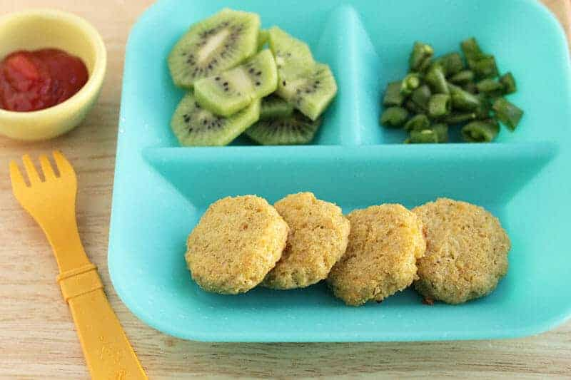 veggie nuggets dinner