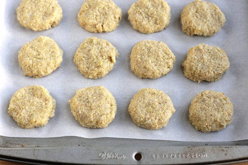 baked veggie nuggets