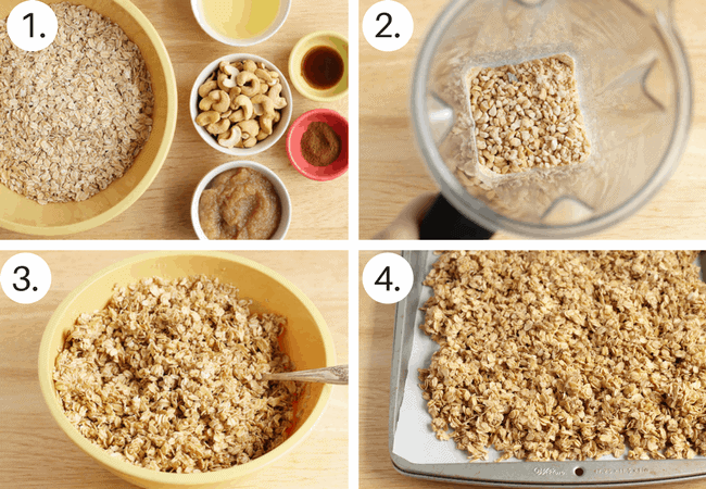 how to make homemade Granola Step by Step