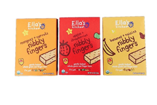 Favorite Toddler Food: Ella's Kitchen Nibbly Fingers