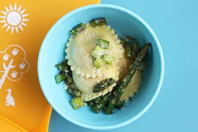 asparagus ravioli for toddlers