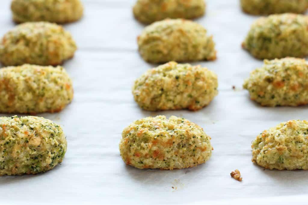 homemade broccoli tots