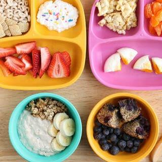 toddler breakfast ideas