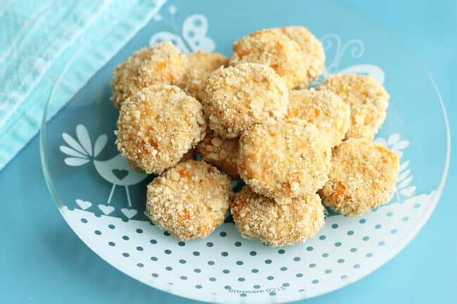 chicken-sweet-potato-nuggets-on-plate