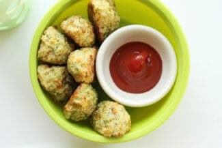 homemade broccoli tots