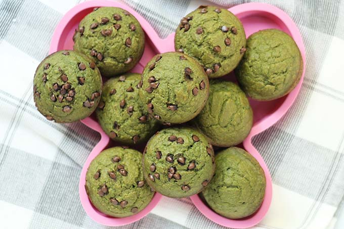 Sweet Spinach Muffins With Banana Perfect For Babies Toddlers
