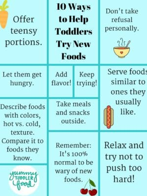 10 Ways to Help Toddlers Try New Foods