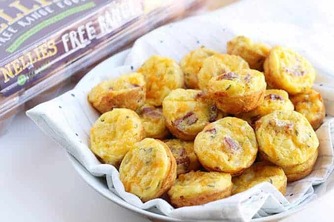 egg muffin recipe with bacon and cheese