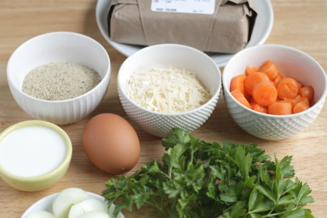 ingredients in healthy meatball recipe