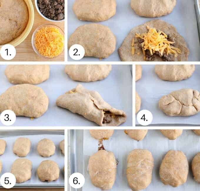 meat rolls step by step