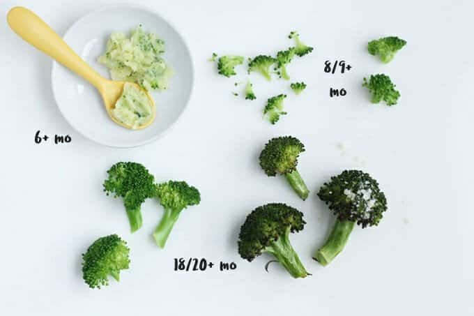 broccoli as finger foods