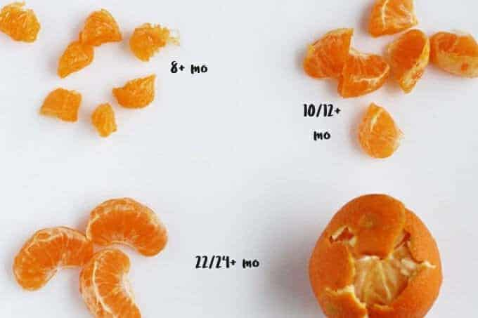 clementines as finger foods