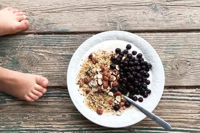 huckleberry-oatmeal