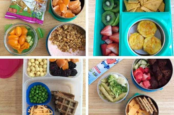 toddler lunch ideas for school