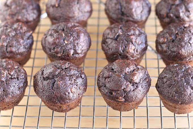 chocolate-banana-muffins-on-wire-rack