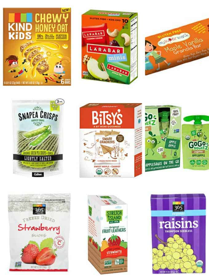 healthy storebought snacks for kids