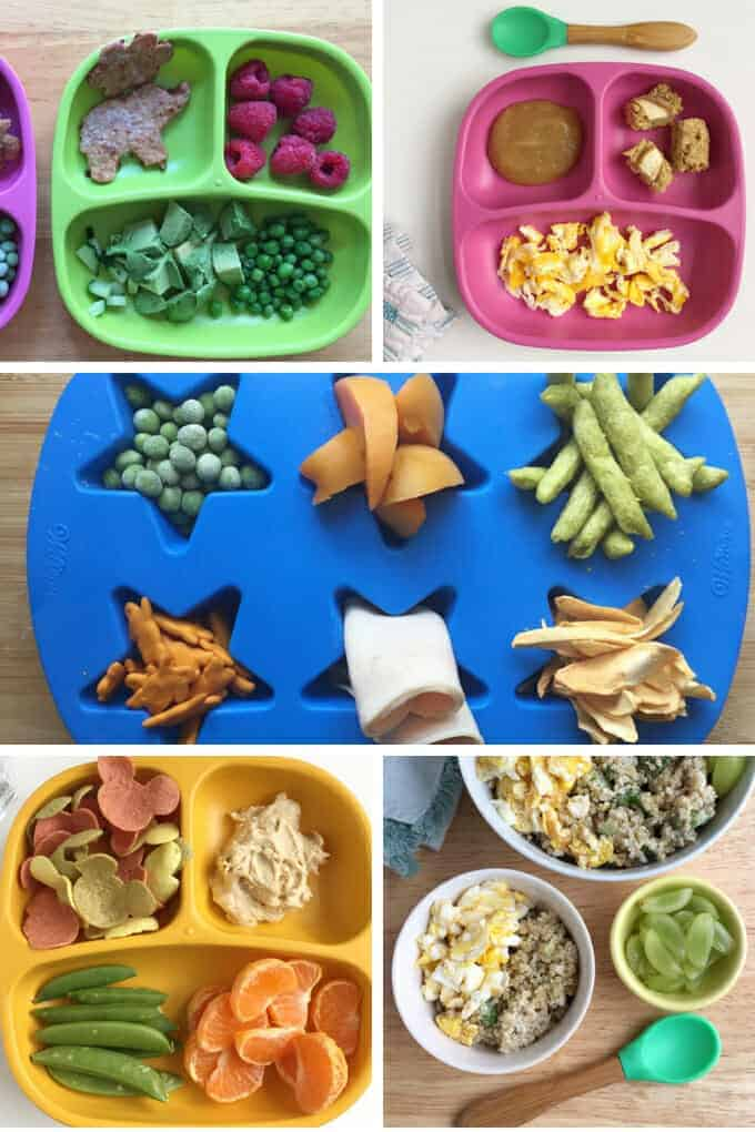 toddler lunch ideas for snack plates, eggs, and grains