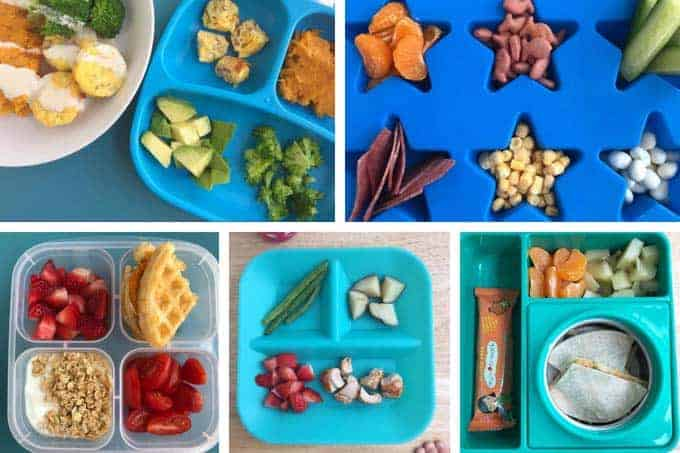 master list of toddler lunches and ideas