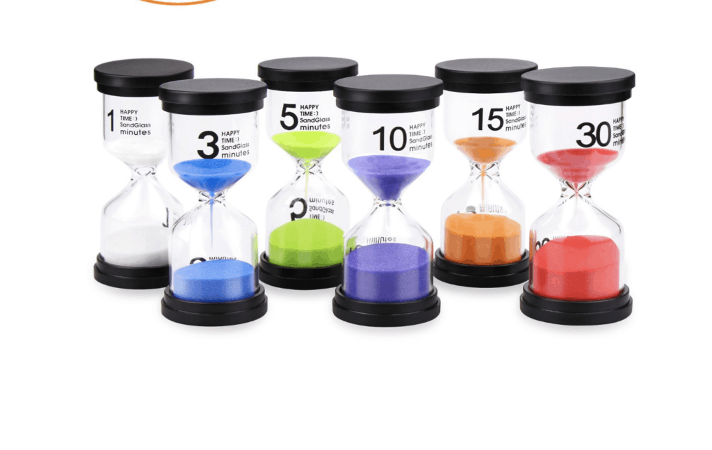 sand timers for kids