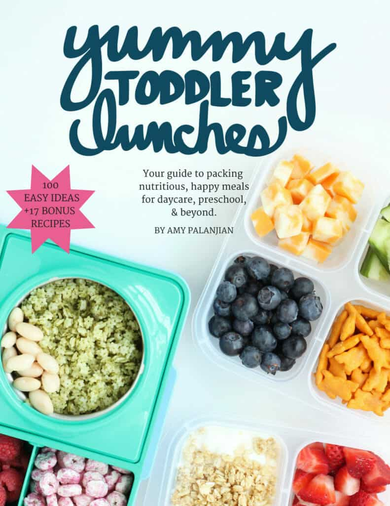 yummy toddler lunches ebook cover