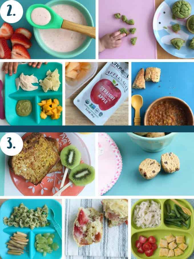 kids meal ideas for sample daily meals