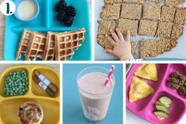 A Week of Healthy Kids Meal Ideas