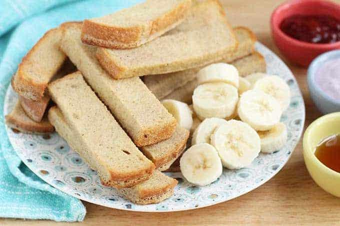 banana french toast sticks