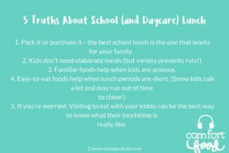 Podcast Episode #7: When School Lunch is a Struggle