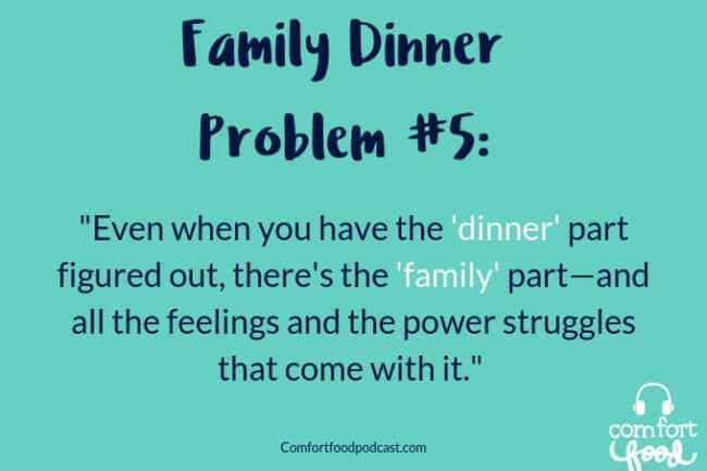 Podcast Ep #11: 5 Common Problems with Family Dinner