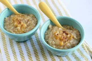 Baby Oatmeal with Butternut Squash (Toddlers will Love Too!)