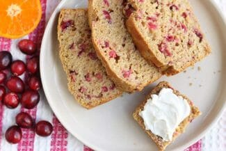 Fresh Cranberry Orange Bread