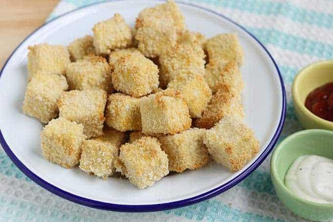 crispy tofu nuggets