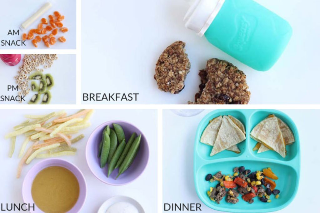 meals and snacks for a toddler